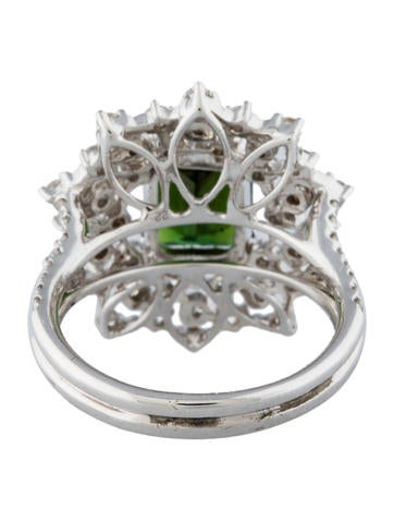 2.29ctw Tourmaline & Diamond Ring