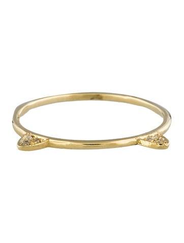 Diamond Cat Ring