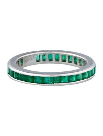 1.25ctw Emerald Band Ring