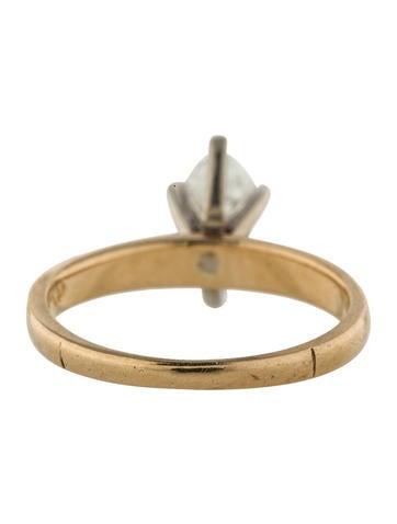 Marquise Cut Diamond Solitaire Ring