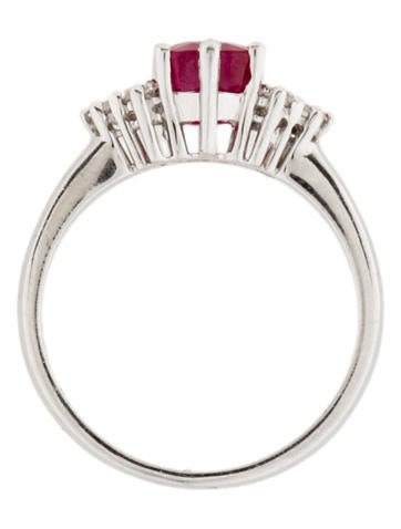 2.04ctw Ruby and Diamond Ring
