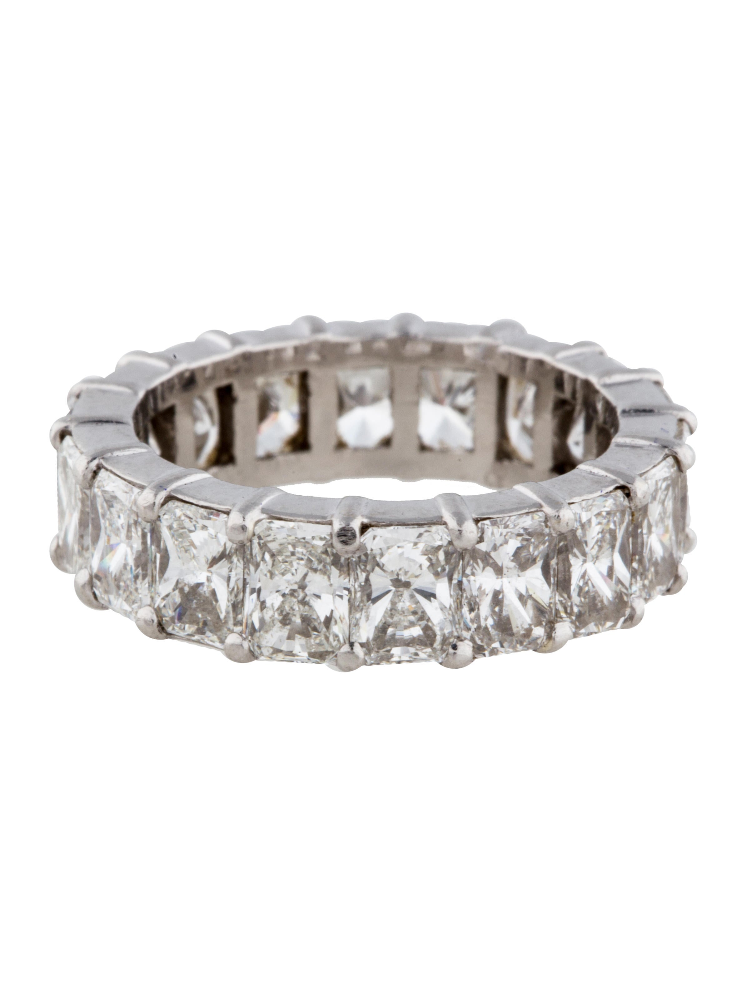 platinum eternity band rings fjr26082 the