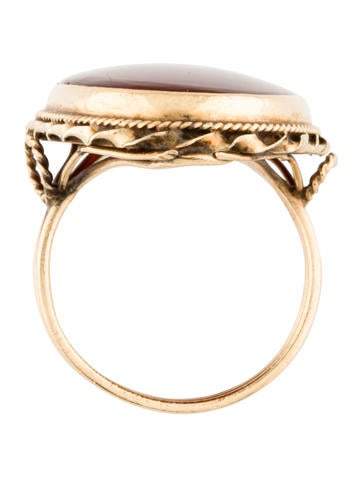 Carnelian Cocktail Ring