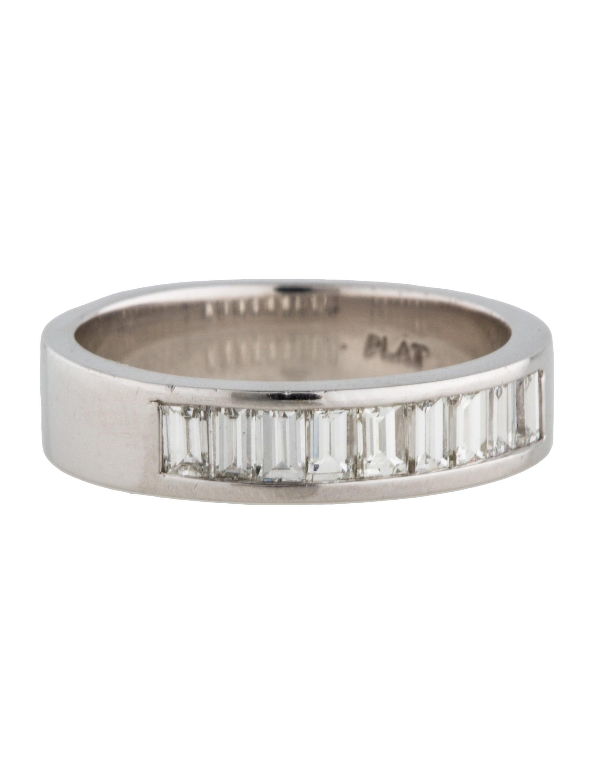 platinum band ring rings fjr27557 the realreal