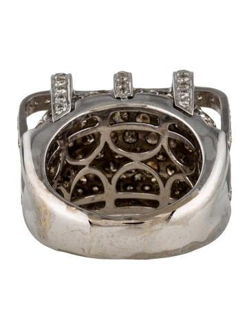 18K Pavé Diamond Ring