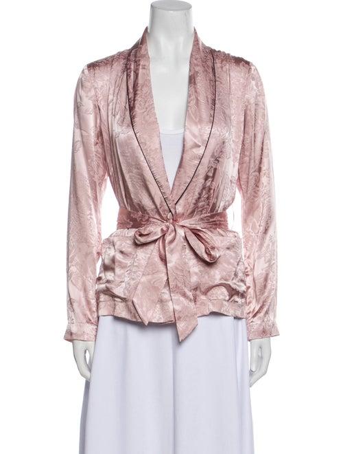 Fleur Du Mal Silk Robe w/ Tags Pink - image 1