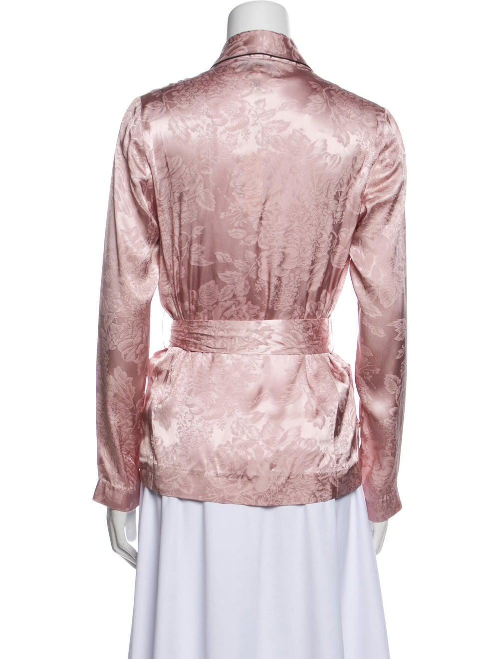 Fleur Du Mal Silk Robe w/ Tags Pink - image 3