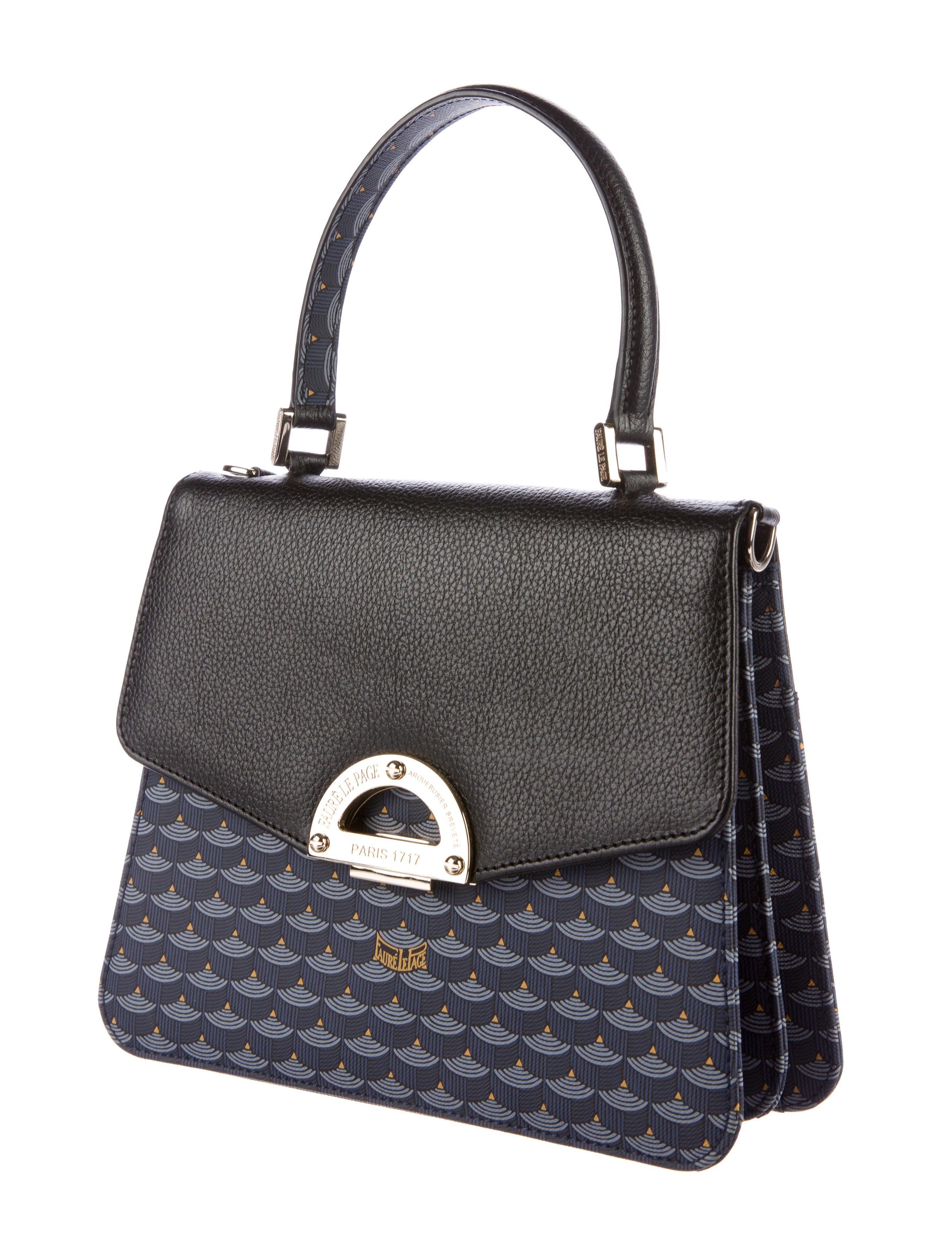 Faur 233 Le Page Parade Bag Handbags Flp20006 The Realreal