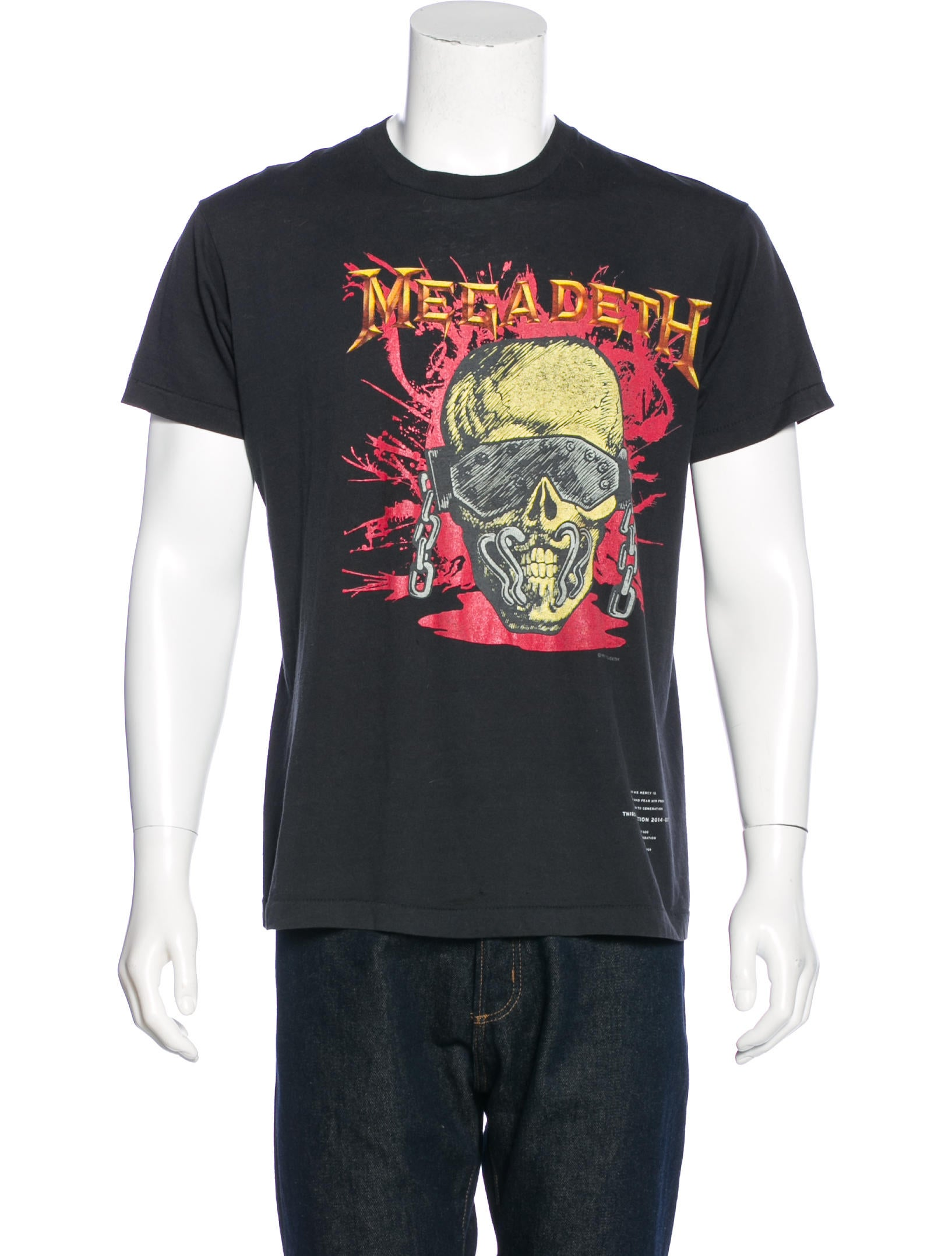 149082ecb01f Fear Of God Megadeth Resurrected T-Shirt - Clothing - FOG20052