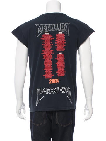 1b5c1b1c9 Fear Of God Metallica Resurrected T-Shirt - Clothing - FOG20053 | The  RealReal