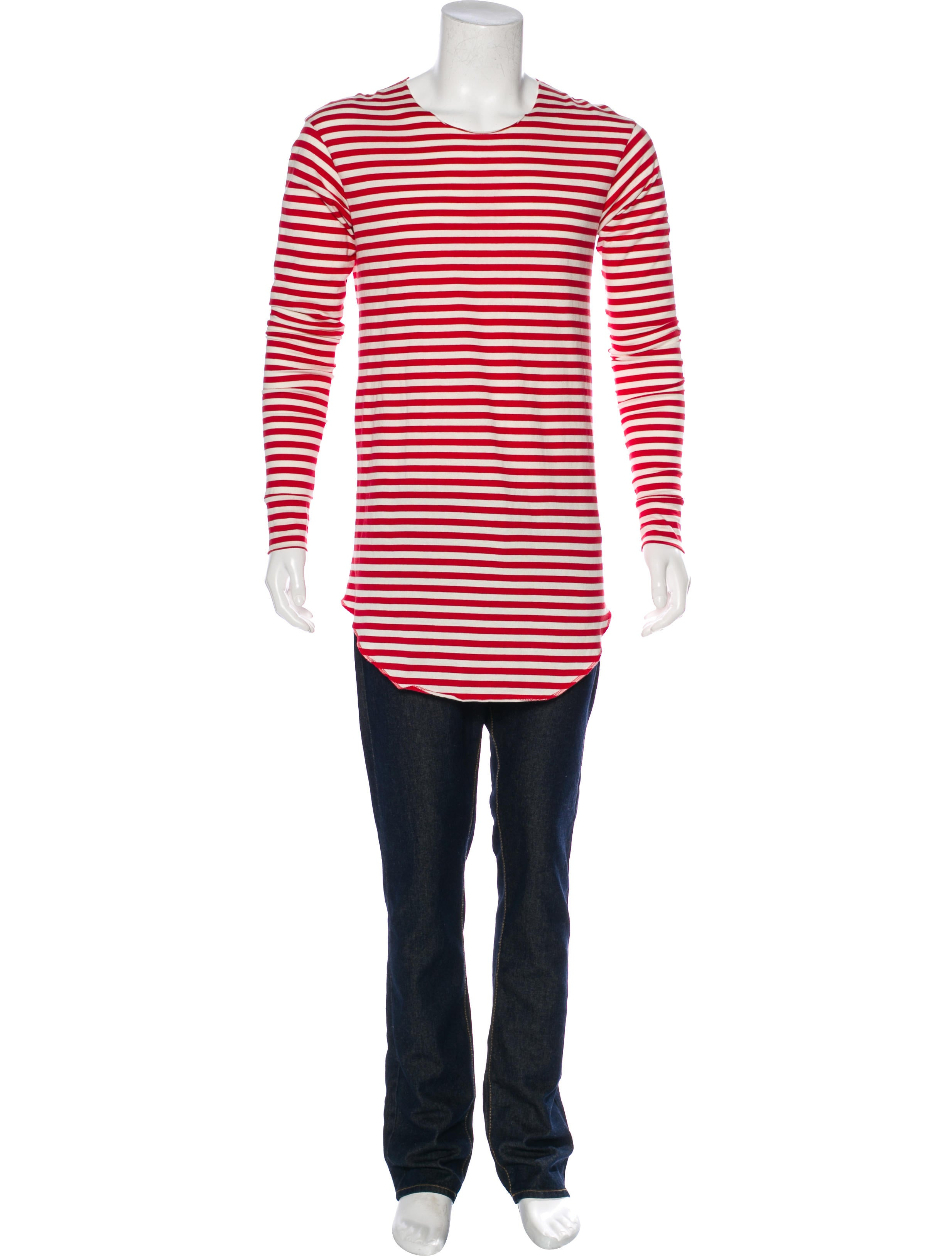 Fear of god striped long sleeve t shirt clothing Striped long sleeve t shirt