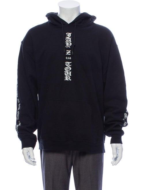 Fear Of God x Jay Z '4:44' Printed Sweatshirt Blac