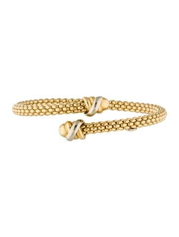 Fope Two-Tone Flex'It Cuff Bracelet