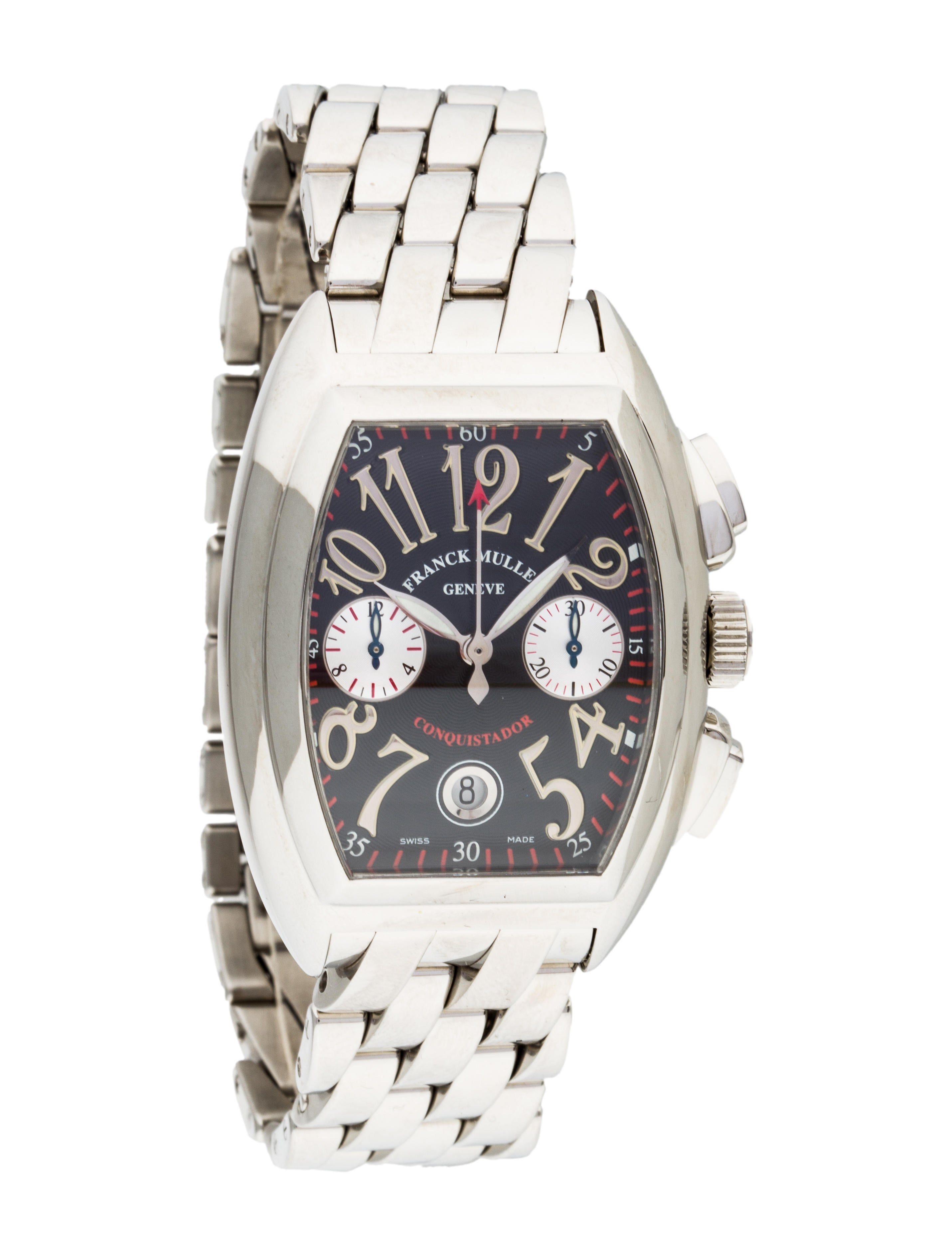 Franck muller conquistador watch bracelet frm20361 the realreal for Franck muller watches