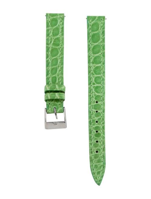 Franck Muller 12mm Green Alligator Watch Strap Gre