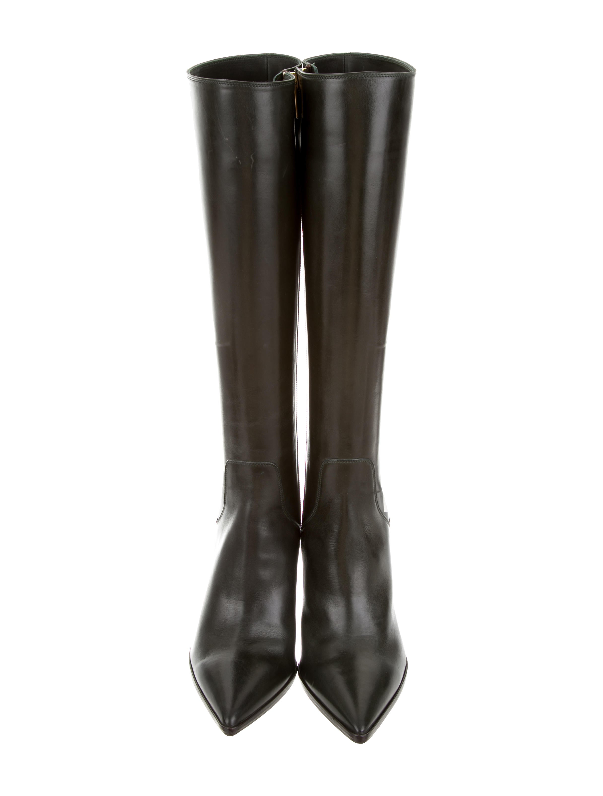 sale best place Fratelli Rossetti Leather Knee-High Boots w/ Tags outlet locations cheap online sale explore original sale online AEG1ZeYF