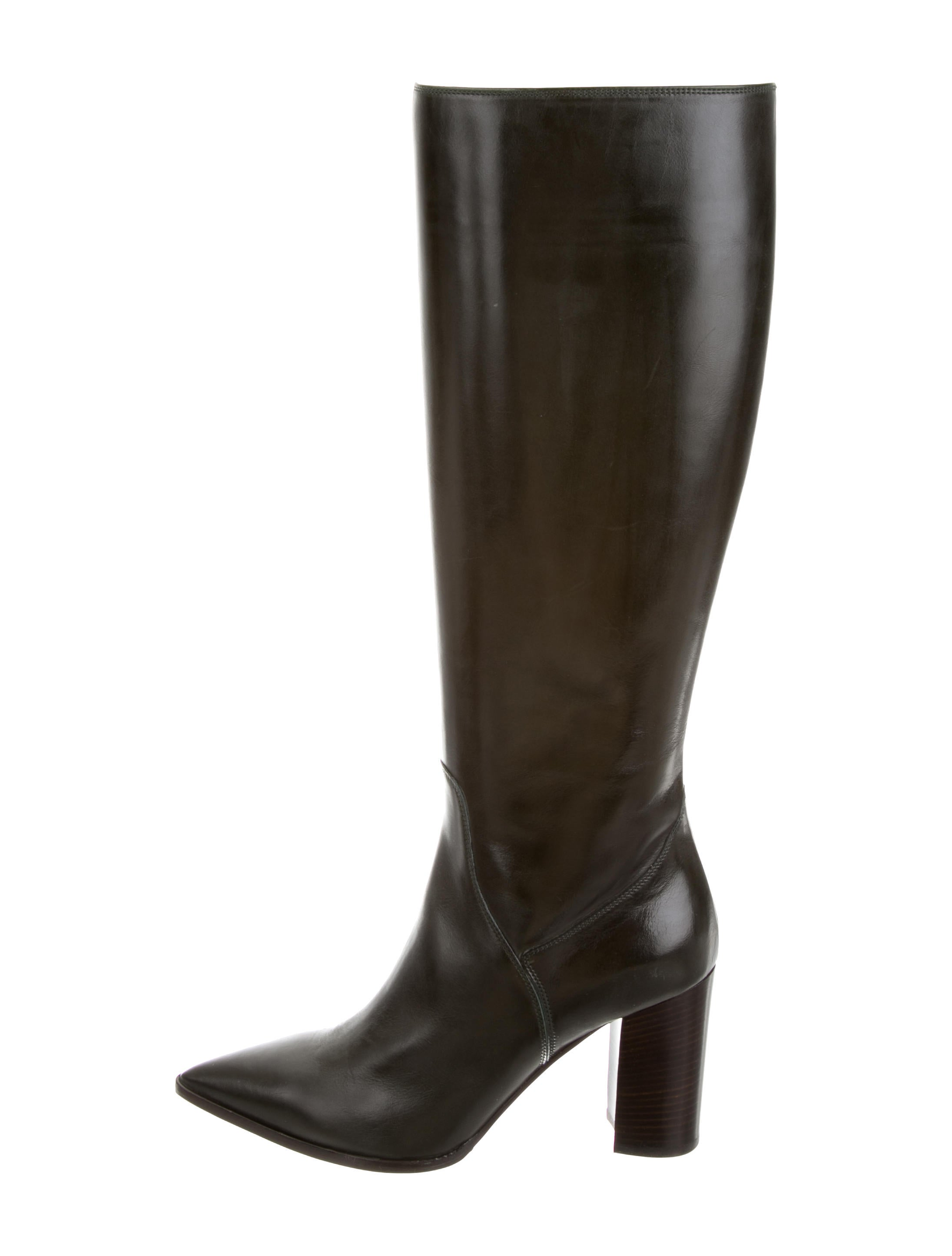 clearance shop for sale cheap real Fratelli Rossetti Leather Knee-High Boots w/ Tags 100% authentic online buy cheap good selling free shipping clearance EfI6qJ657I