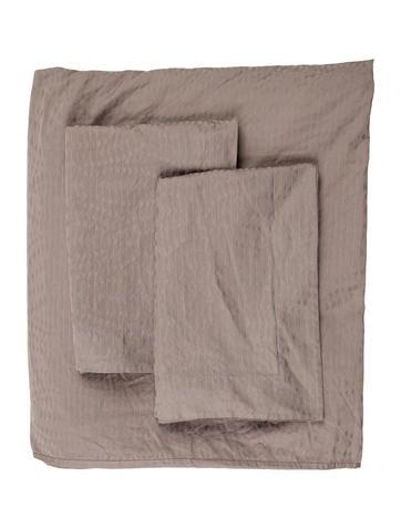 Frette King-Size Duvet Cover & Shams