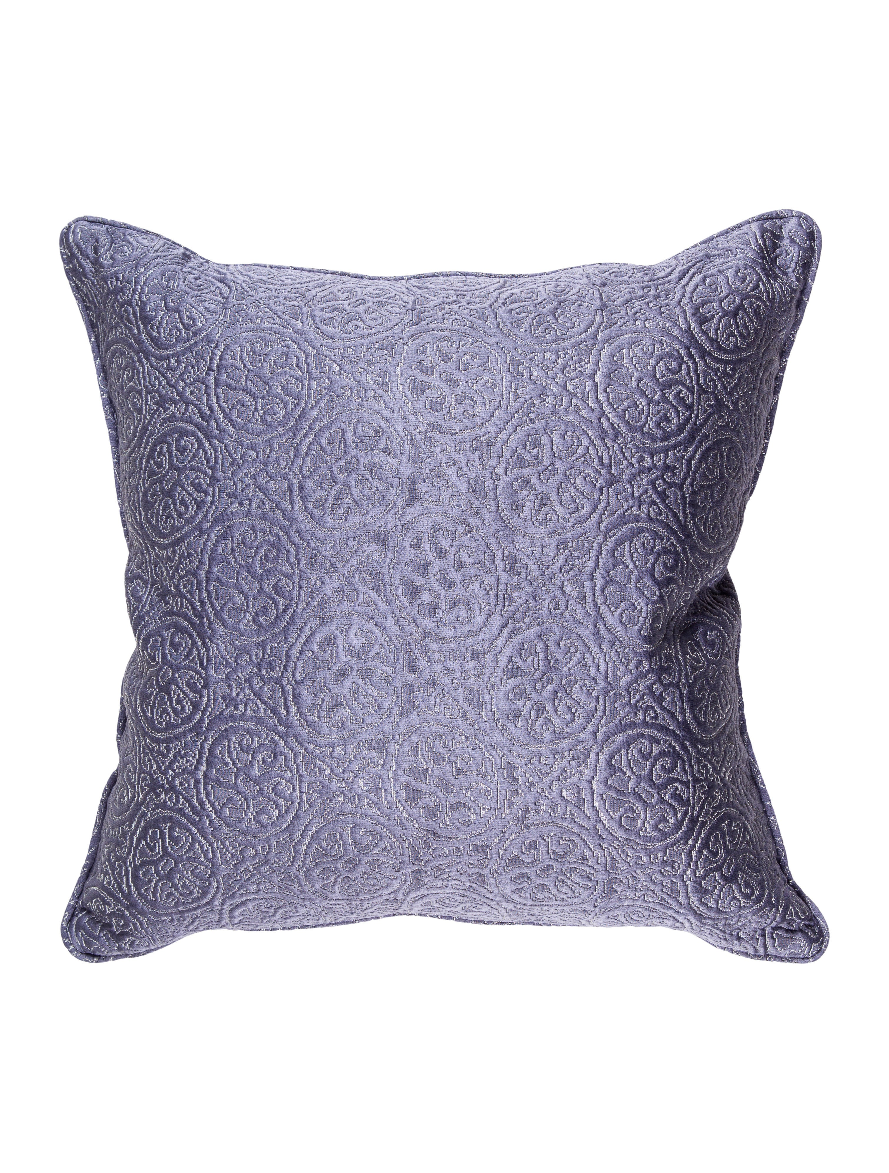 Frette Violet Curiosity Throw Pillow - Pillows And Throws - FRT20120 The RealReal