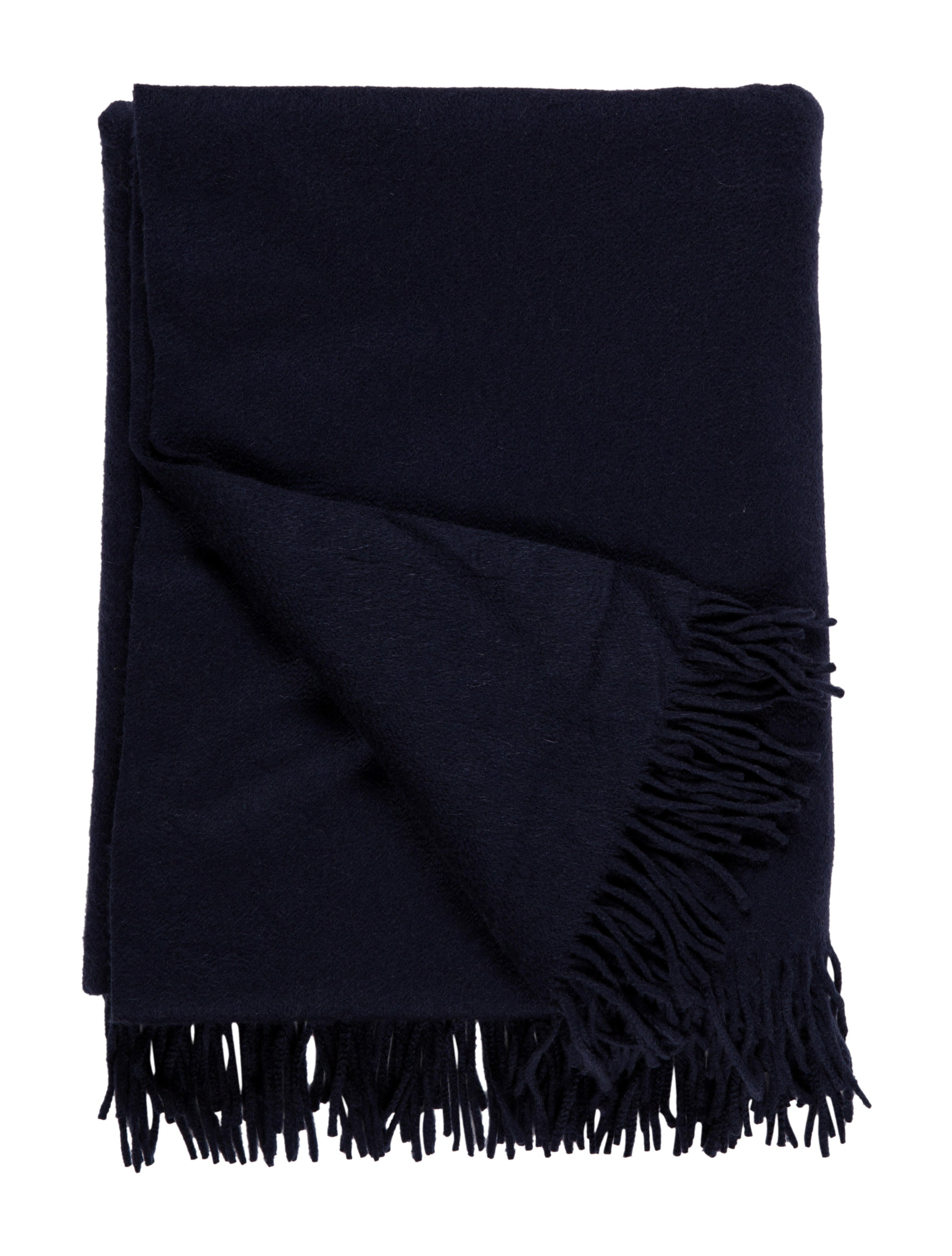 Frette Fringed Cashmere Throw Blanket - Pillows And Throws - FRT20227 The RealReal