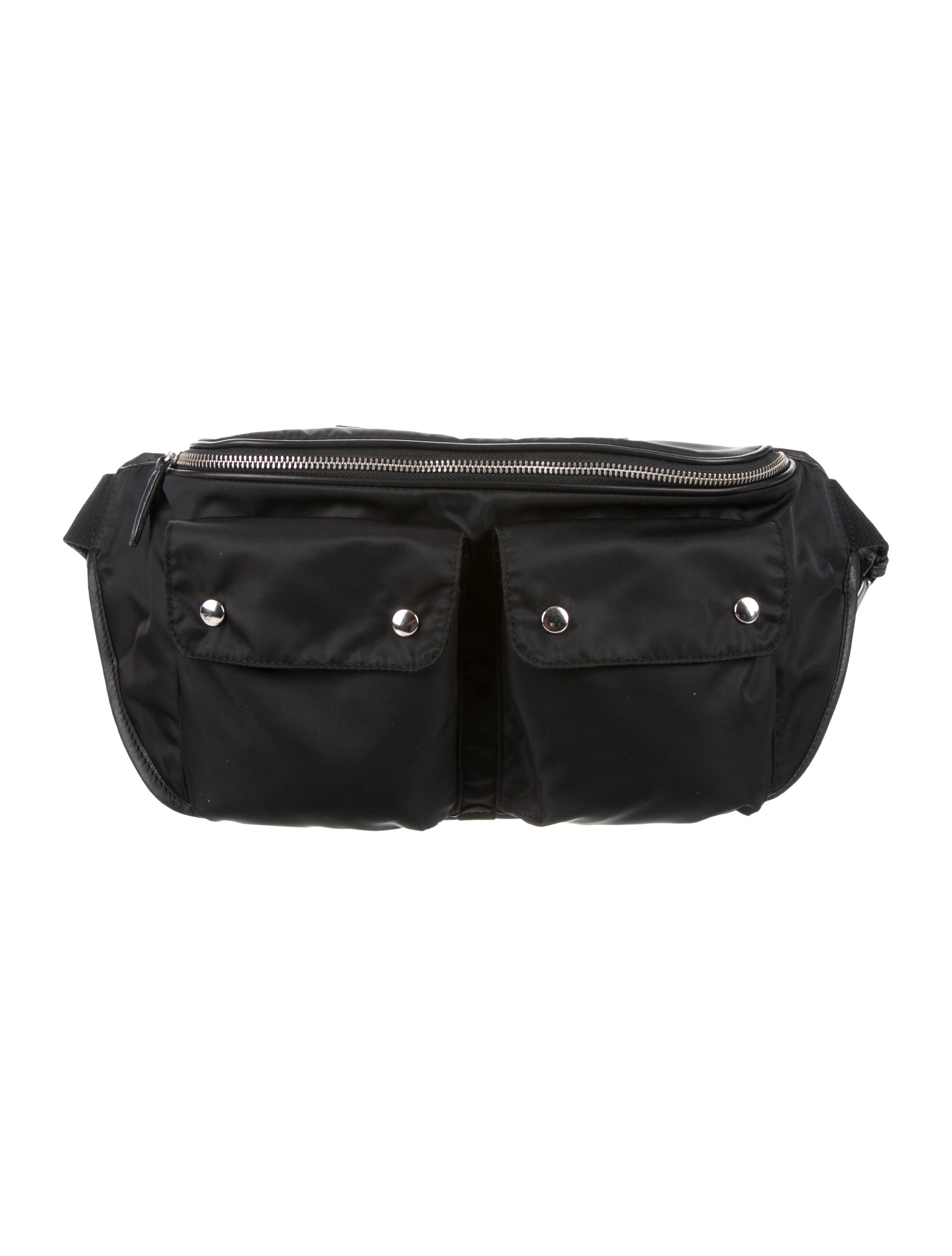 2b5a433b1328 Felisi Leather-Trimmed Belt Bag w  Tags - Bags - FSI20007