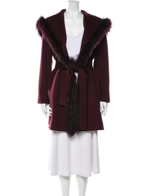 Fleurette Wool Coat Wool