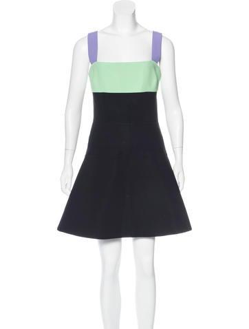Fausto Puglisi Colorblock A-Line Dress w/ Tags None