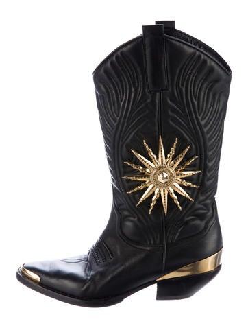 Fausto Puglisi Sun Cowboy Boots None