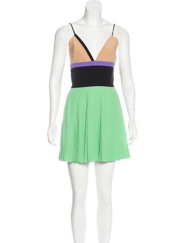 Fausto Puglisi Colorblock Mini Dress None