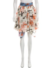 b540215503 Fausto Puglisi. Printed Silk Dress