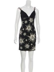 98cd652663 Fausto Puglisi. Embellished Tribal Dress