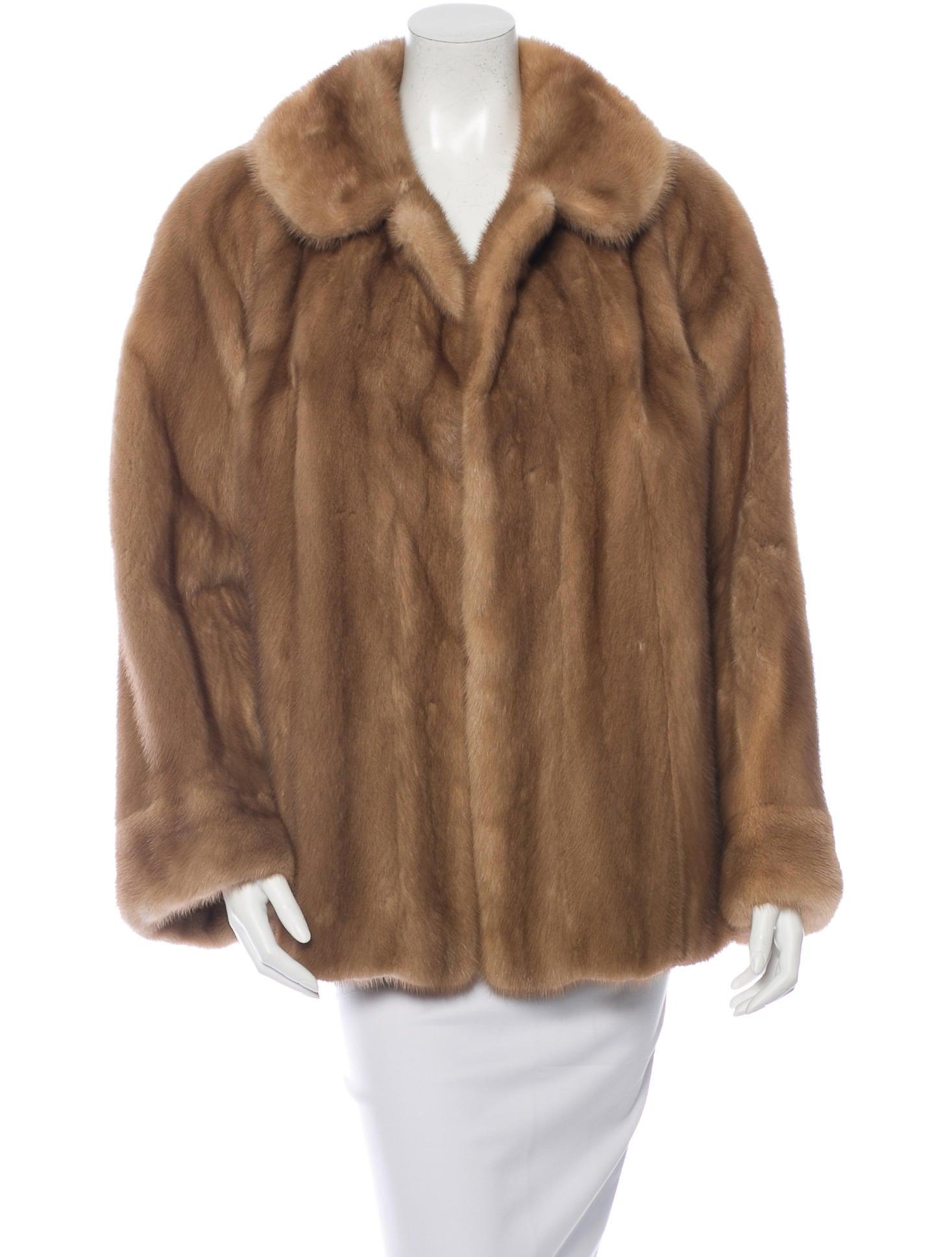 Mink Coat Value >> Fur Mink Fur Open Front Coat - Clothing - FUR20998 | The ...