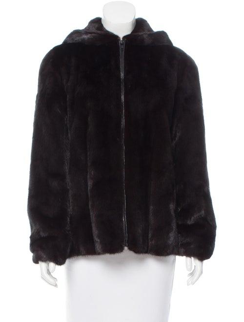Hooded Mink Fur Jacket mink