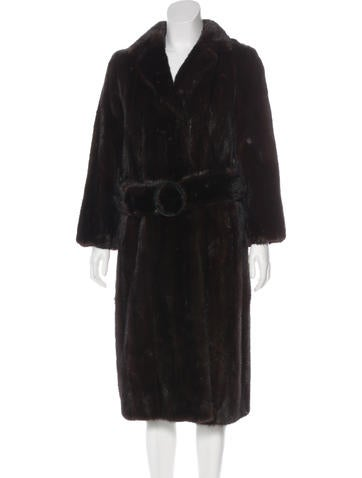 Long Mink Coat None