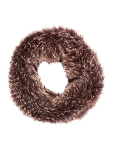 Fox Fur Infinity Scarf None