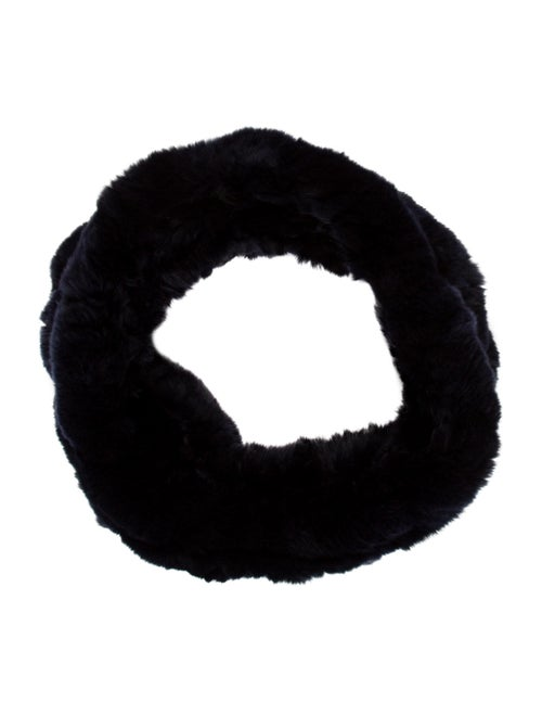 Fur Fur Snood Blue