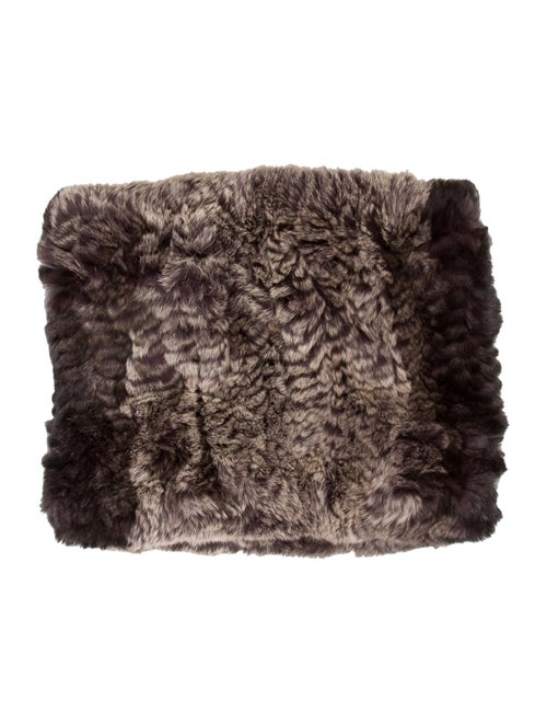 Woven Fur Snood