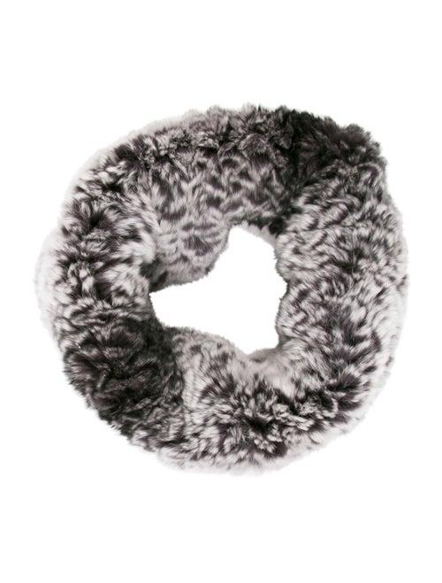 Fur Fur Knit Snood Grey