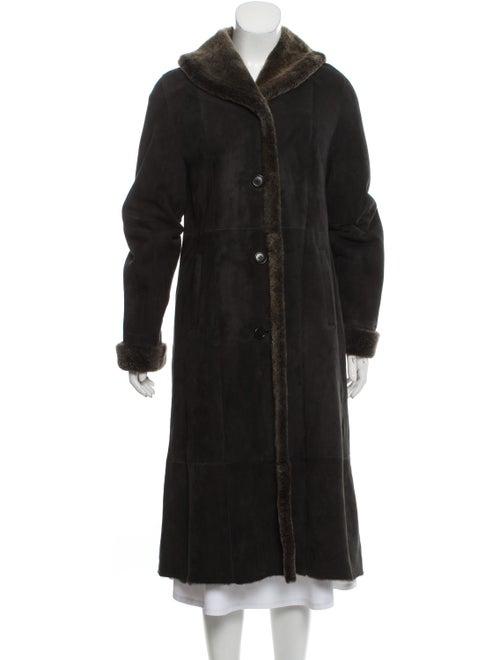 Shearling Fur Jacket Black