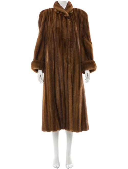 Fur Long Mink Fur Coat mink
