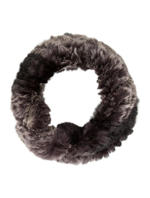 Fur Fur Snood Grey