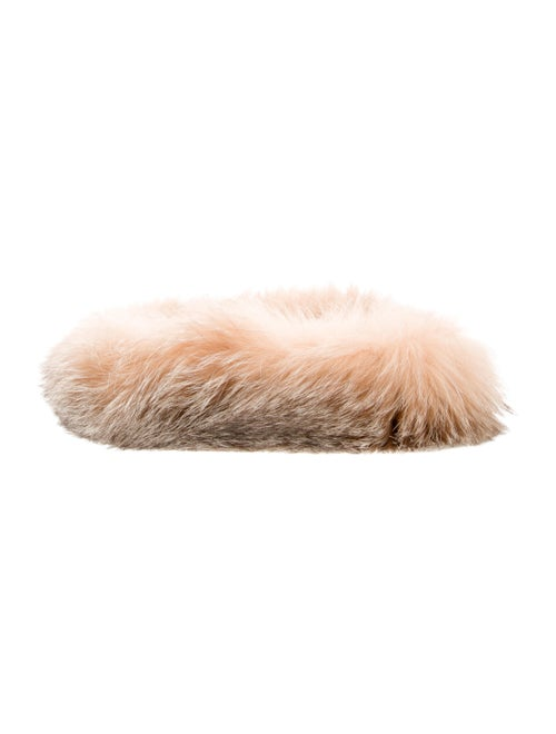 Fur Headband Brown