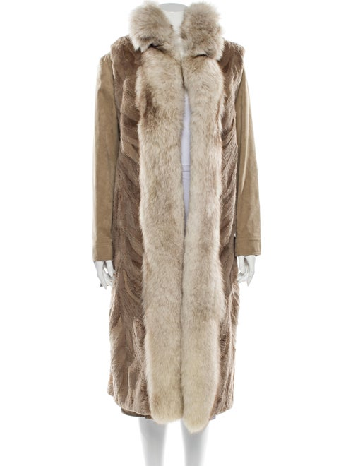 Fur Faux Fur Coat