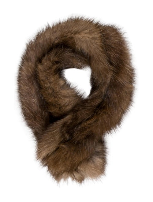 Fur Sable Snood Brown