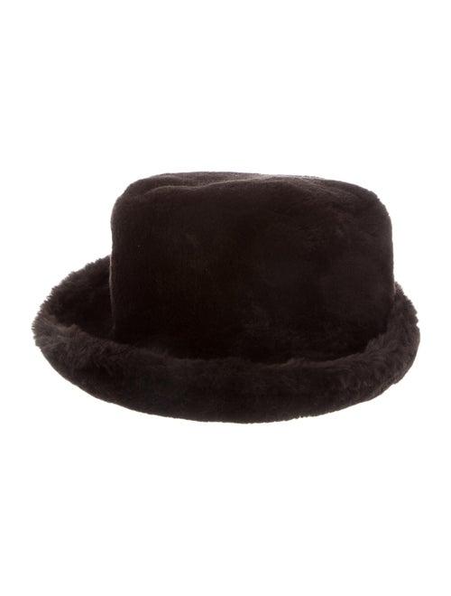 Fur Fedora Hat Brown