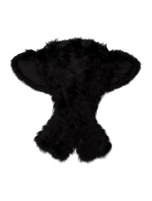 Fur Stole Black