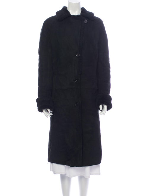 Fur Faux Fur Coat Black