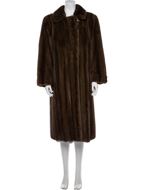Fur Coat Brown - image 1