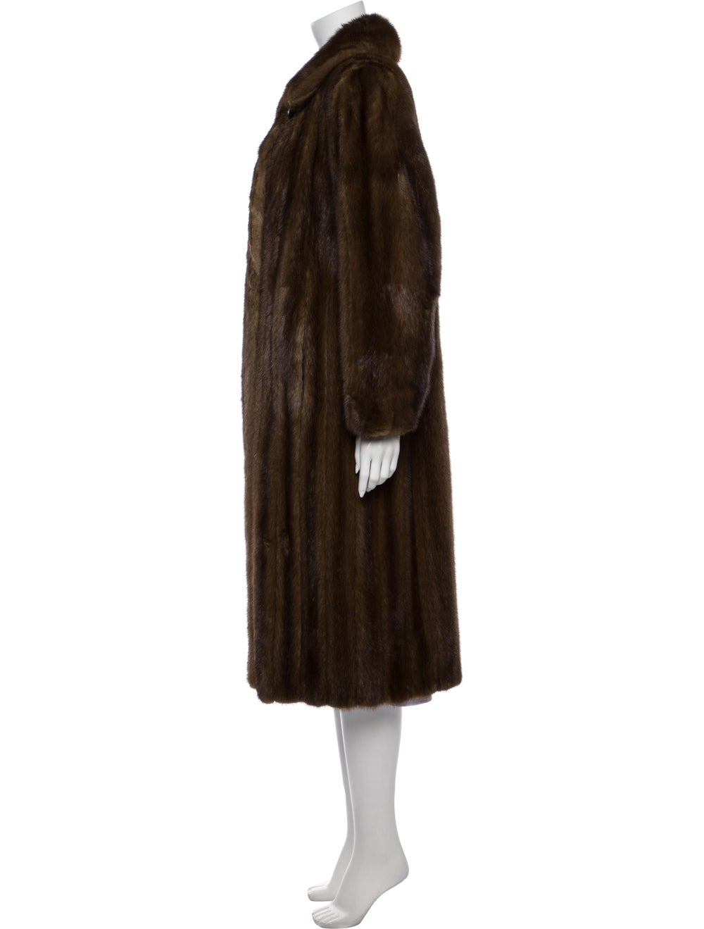 Fur Coat Brown - image 2