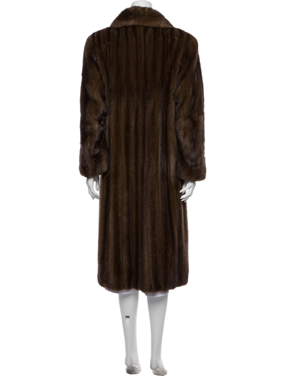Fur Coat Brown - image 3